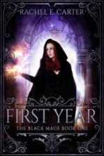 first year rachel e carter cover art bookshelves