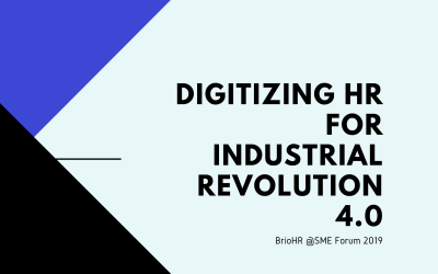 Digitizing HR for Industrial Revolution 4.0