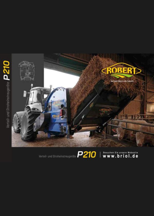 Verteil- und Stroheinstreugeräte P210