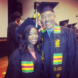 Legendary journalist (and 2013 grad!) Jim Boyd!...and me.