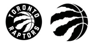 Toronto Raptors Logo comparison