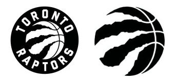 Toronto Raptors Logo comparison
