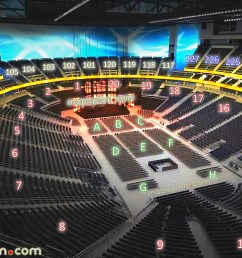 new t mobile arena las vegas seating chart 02 view seat section row virtual concert stage [ 1920 x 1080 Pixel ]