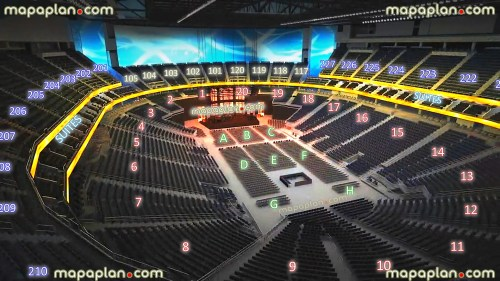small resolution of new t mobile arena las vegas seating chart 02 view seat section row virtual concert stage