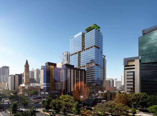 Suncorp Selects 80 Ann Street Headquarters