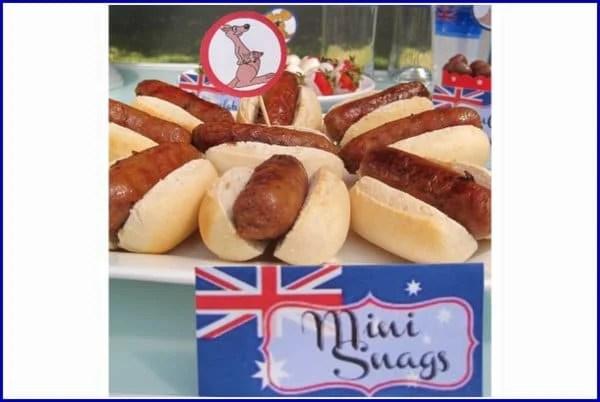 Australia Day Food