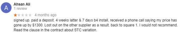 MC Electrical Brisbane complaints