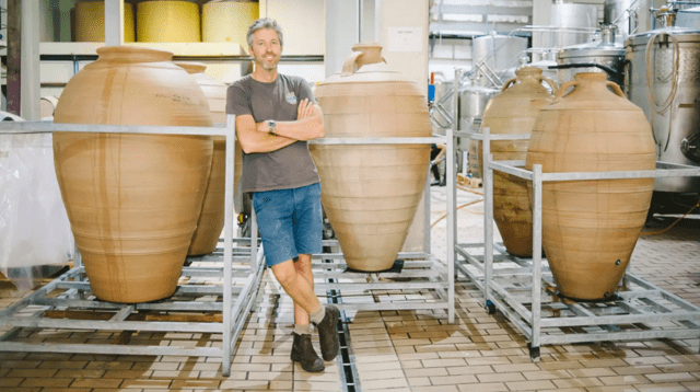 Duncan Savage says the end of the alcohol sales ban arrived just in time, with his newest wines just weeks away from release. (Maree Louw)