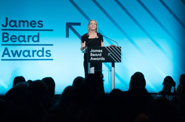 James Beard Foundation CEO Clare Reichenbach at the 2018 James Beard Media Awards Photo by Noam Galai/Getty Images