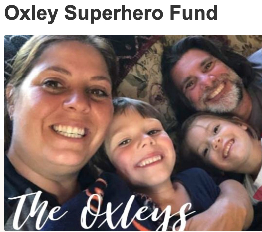 The Oxley Superhero Fund was established by wine industry friends and colleagues.