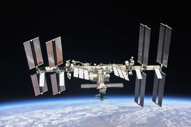 The International Space Station. Credit: NASA/Roscosmos / Wikipedia (2018)