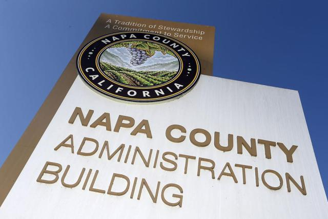 The Napa County Administration Building at Third and Coombs streets. J.L. Sousa, Register