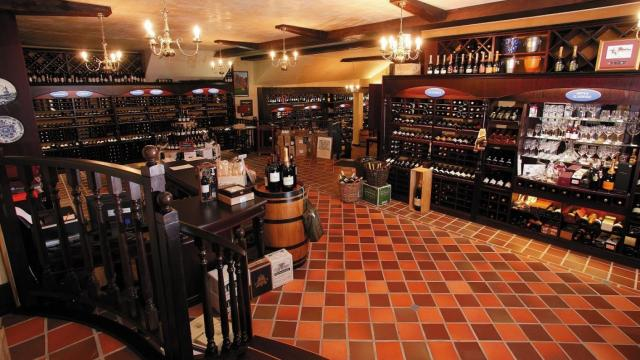 South Africa breathes a sigh of relief with the partial reopening of wine sales, Malu Lambert reports, although a very long road to recovery looms. Caroline's famous wine store in Cape Town is pictured, and is once more allowed to trade.