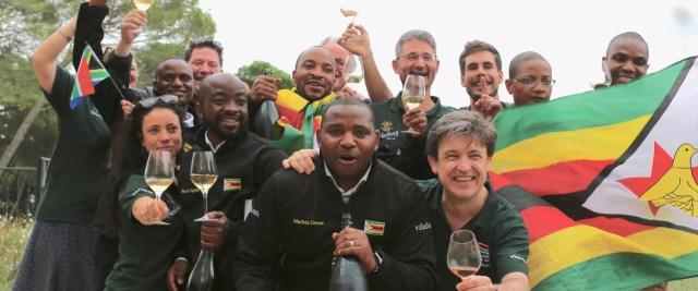 Documentary Blind Ambition follows sommeliers Joseph Dhafana, Tinashe Nyamudoka, Marlvin Gwese and Pardon Taguzu, the first-ever Zimbabwean team at the World Blind Wine Tasting Championships