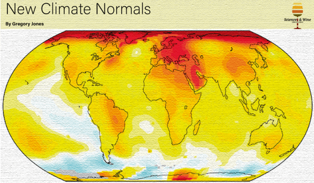 Climate normal periods are based on 30 years of data to limit the random swings of daily weather.