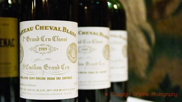 Chateau Cheval Blanc 1989, Saint Emilion, Bordeaux, copyright BKWine Photography