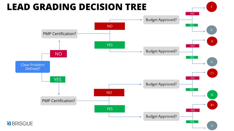 SAMPLE LEAD GRADING SYSTEM DECISION TREE