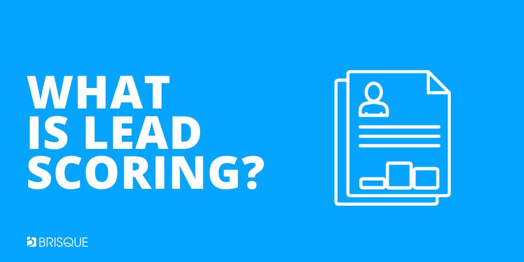 what is lead scoring - lead scoring definition