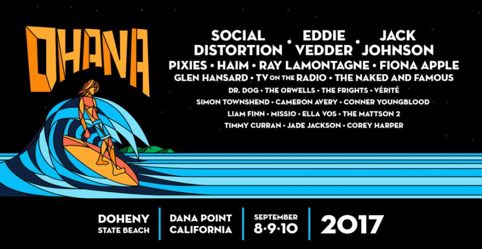 Ohana Festival Lineup Poster