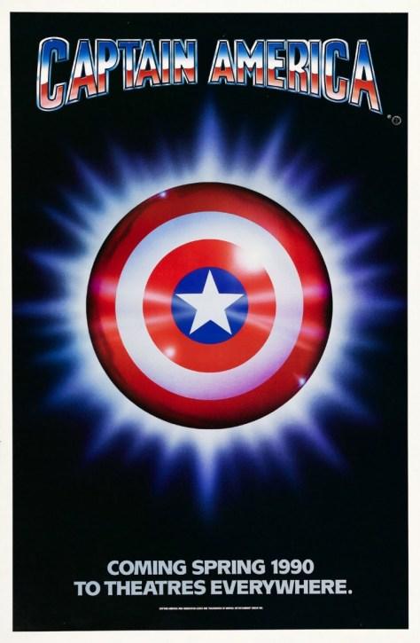 Captain America 1990 Movie Poster