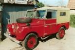 1954 landrover fire crew