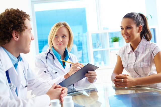 Discussion with the dentists and the patient - Mississauga Dentist - Bristol Dental