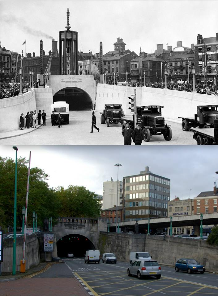 027 Mersey Tunnel, 1934 and 2014