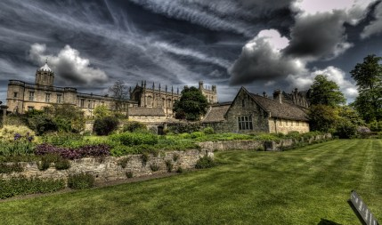 Max Ross -- University grounds in Oxford