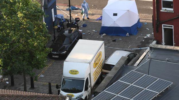 003 London Van Attack Mosque