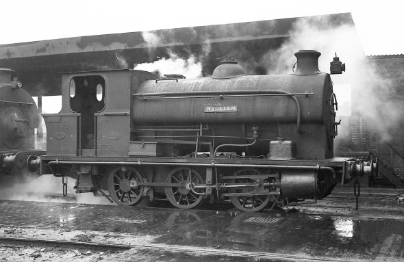 'William' (Avonside Engine 1725 of 1915) at PBA, Avonmouth 5/4/58