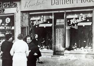 Kristallnacht 9 November 1938 dont stand by