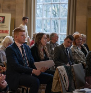 Audience at Bristol Holocaust Memorial Day event 2019