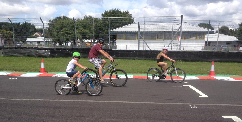 On-track Bike Rides