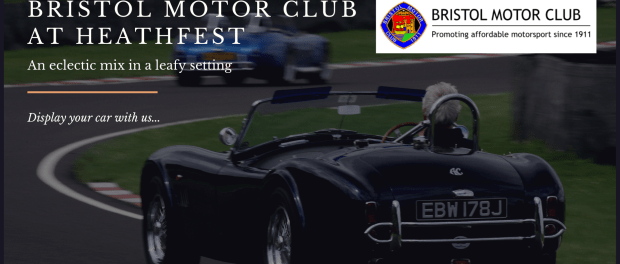 Bristol Motor Club at Heathfest