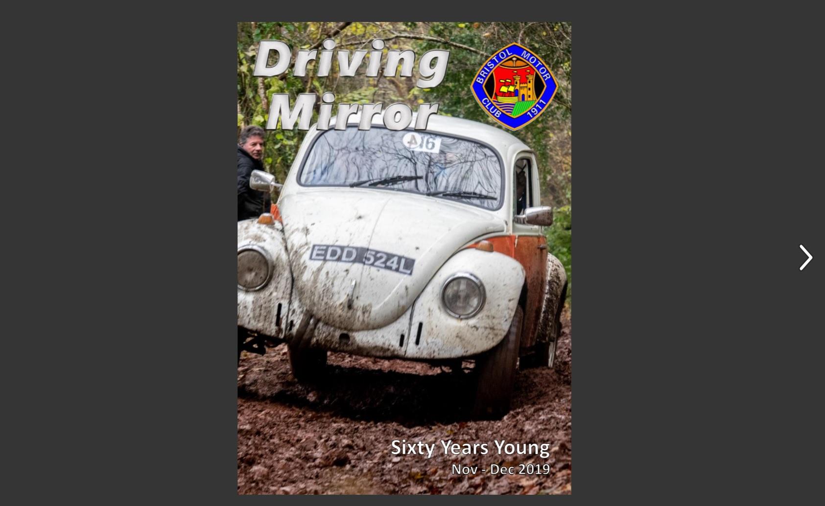 Driving Mirror (Nov – Dec '19) Cover