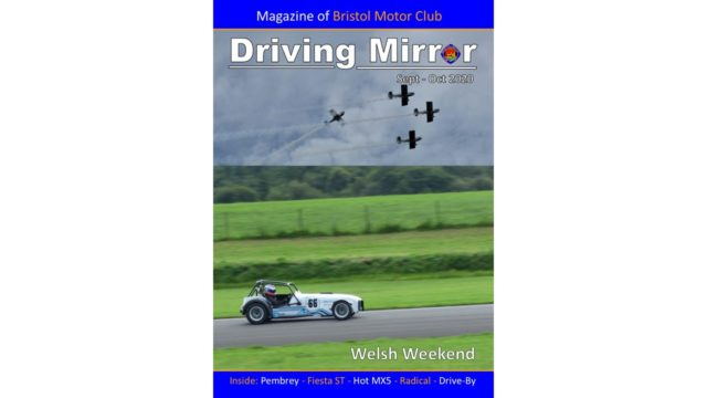 Driving Mirror Sept – Oct 2020 (Front Cover #2)