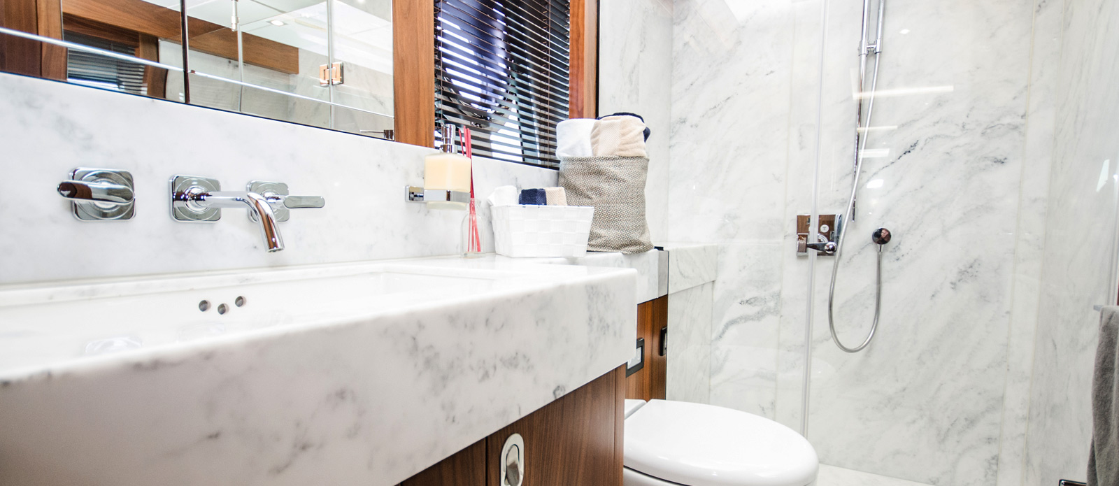 Sunseeker 86 Yacht - Master-Bathroom