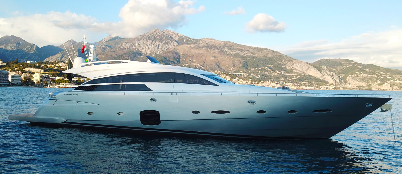 Pershing 92 - Vision - For Sale with Bristow-Holmes