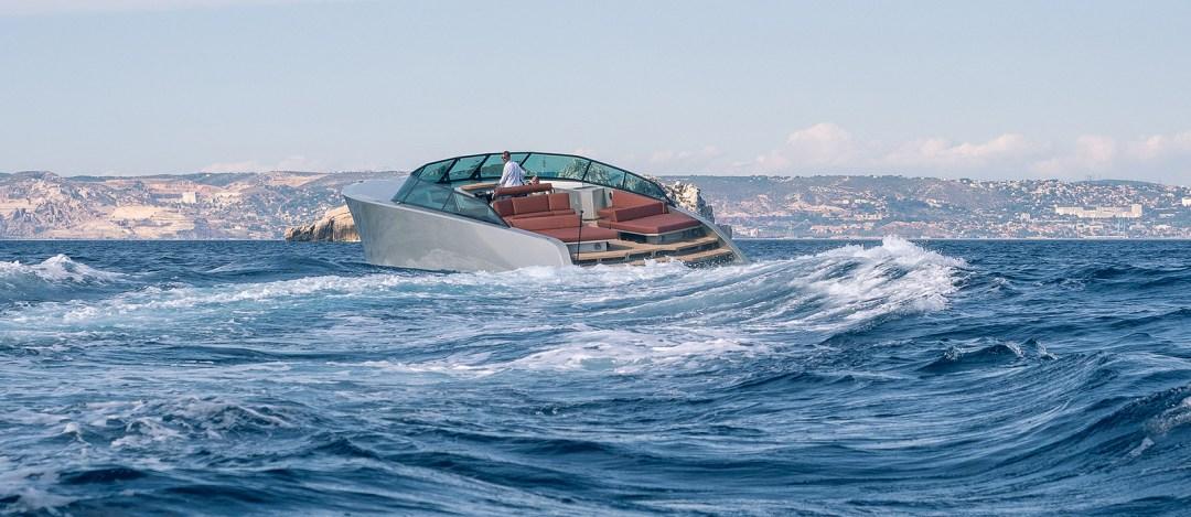 California Yacht at Sea