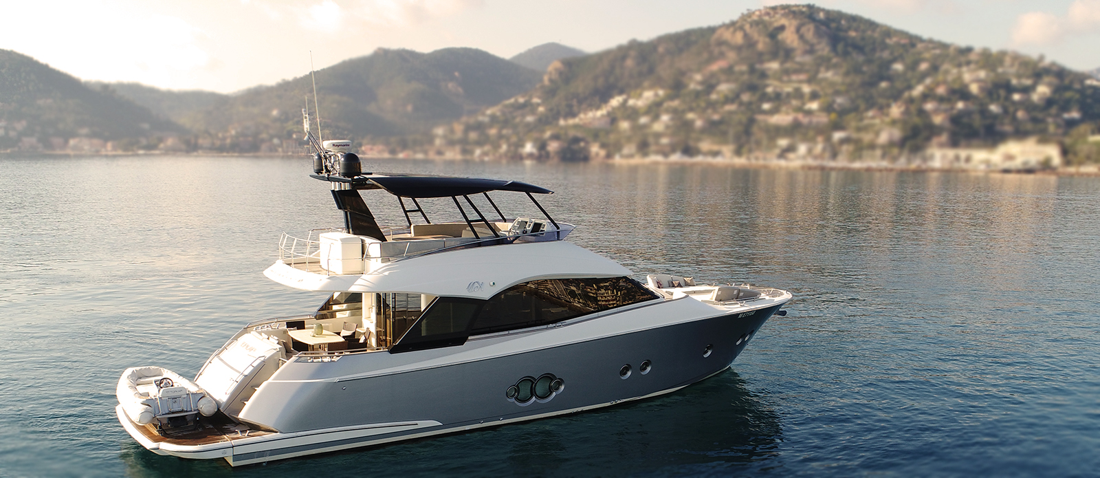 Monte Carlo Yachts 'It's Magic' For sale exclusively with Bristow-Holmes