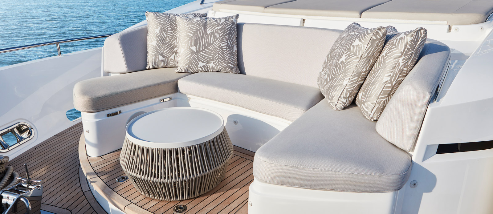Princess 30 Metre Yacht Bandazul - Bow Seating Area