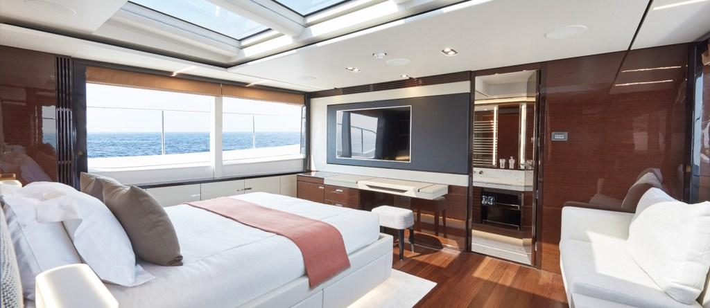 Princess 30 Metre Yacht Bandazul - Master Cabin