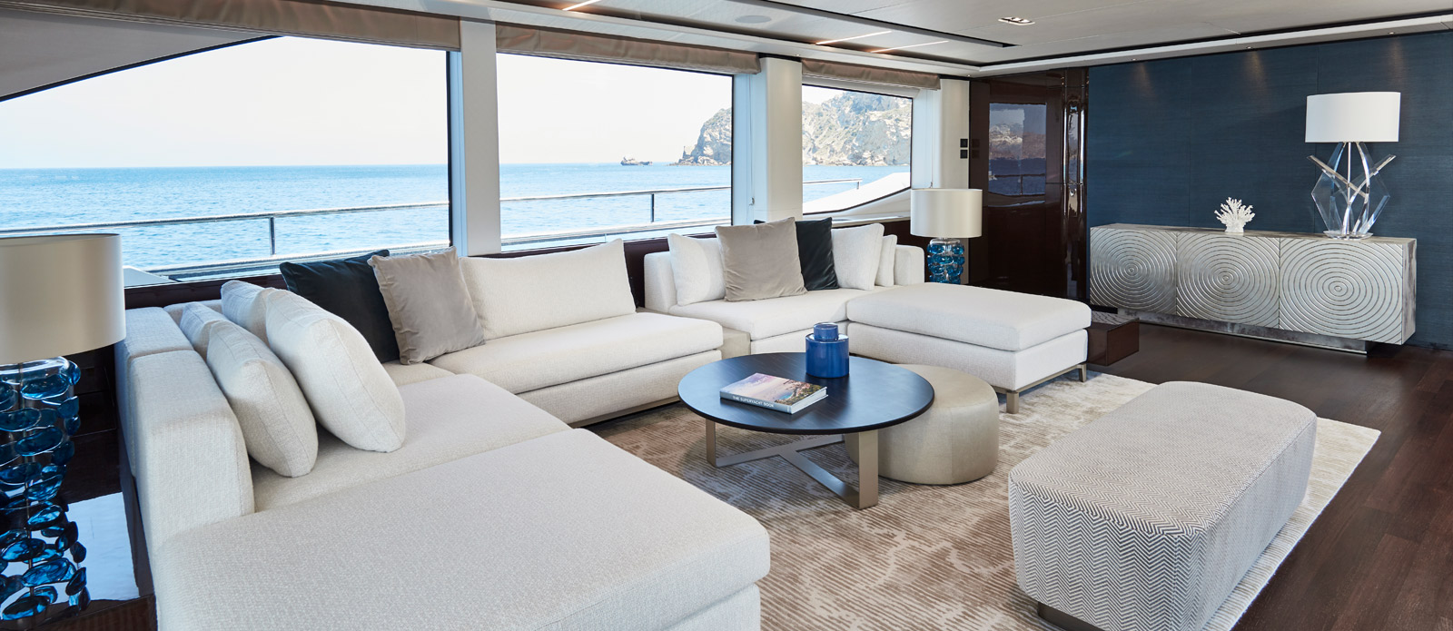 Princess 30 Metre Yacht Bandazul - Saloon
