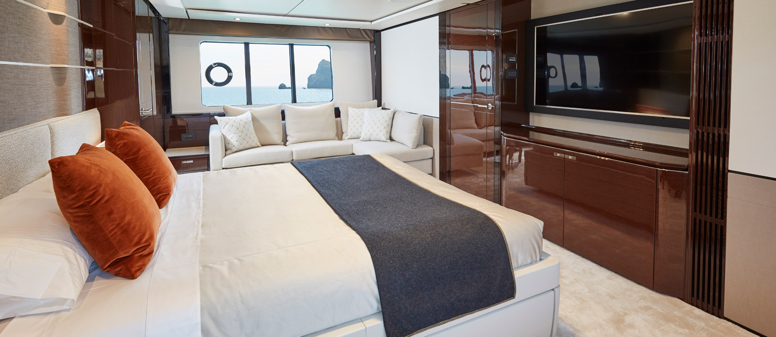 Princess 30 Metre Yacht Bandazul - VIP Cabin