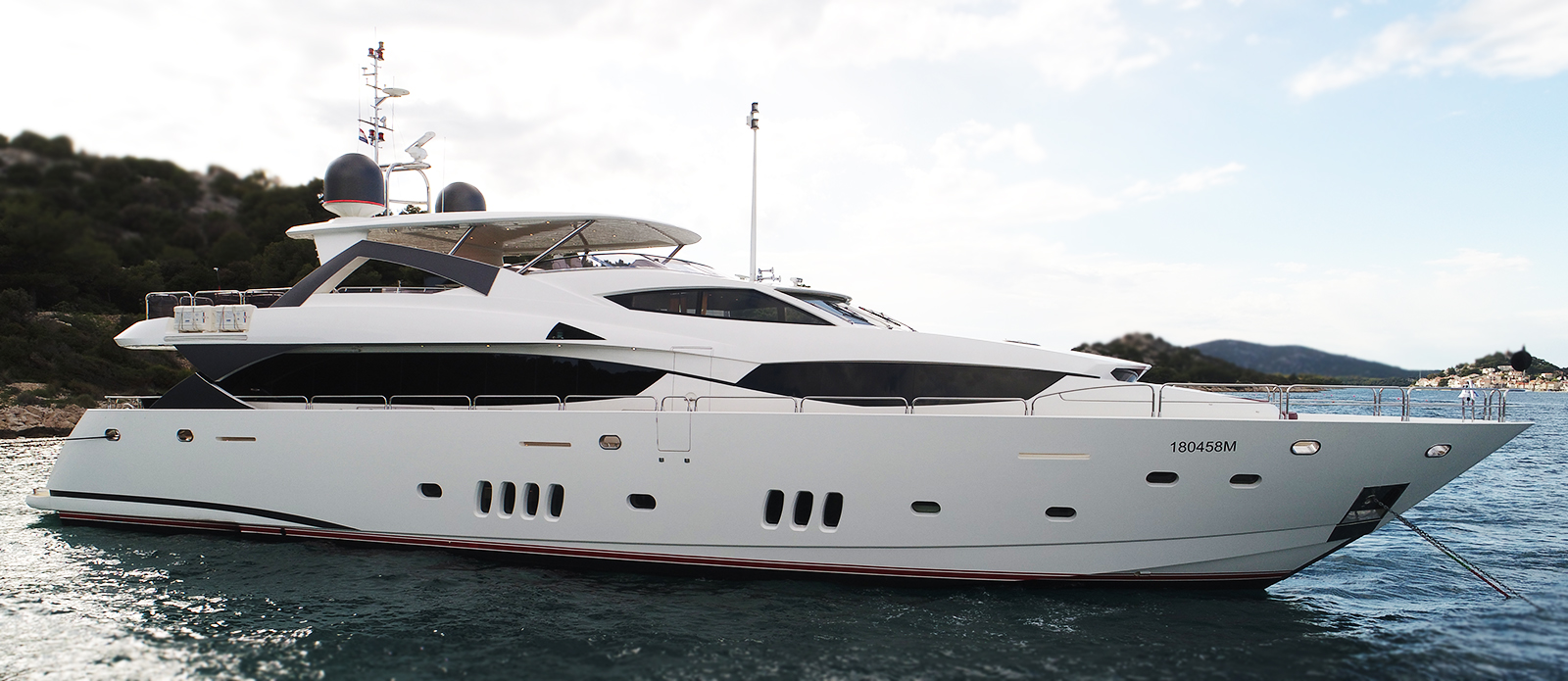Sunseeker 34m Yacht in Croatia For Sale Exclusively with Bristow-Holmes