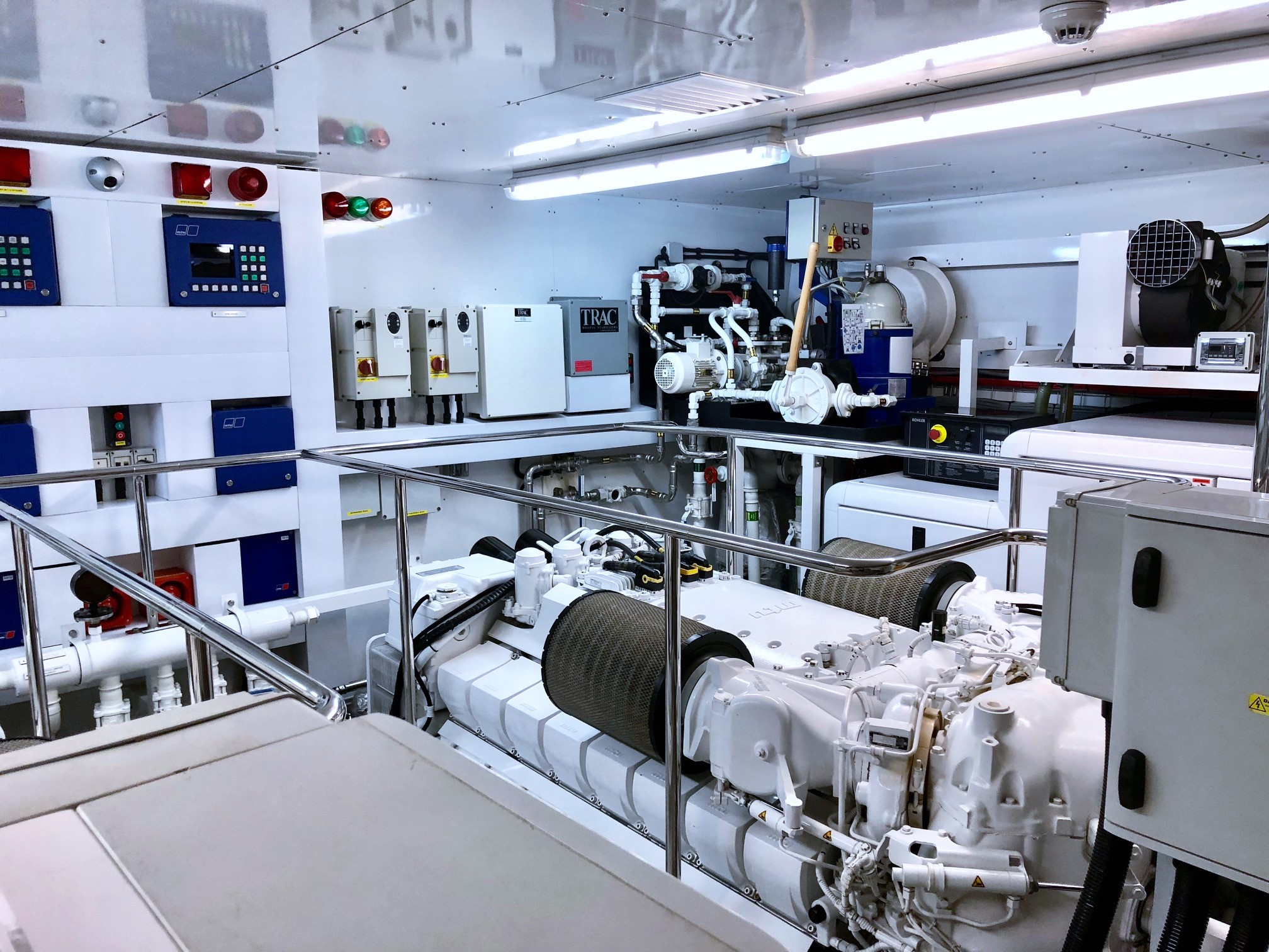 Manhattan Express II - Engine Room