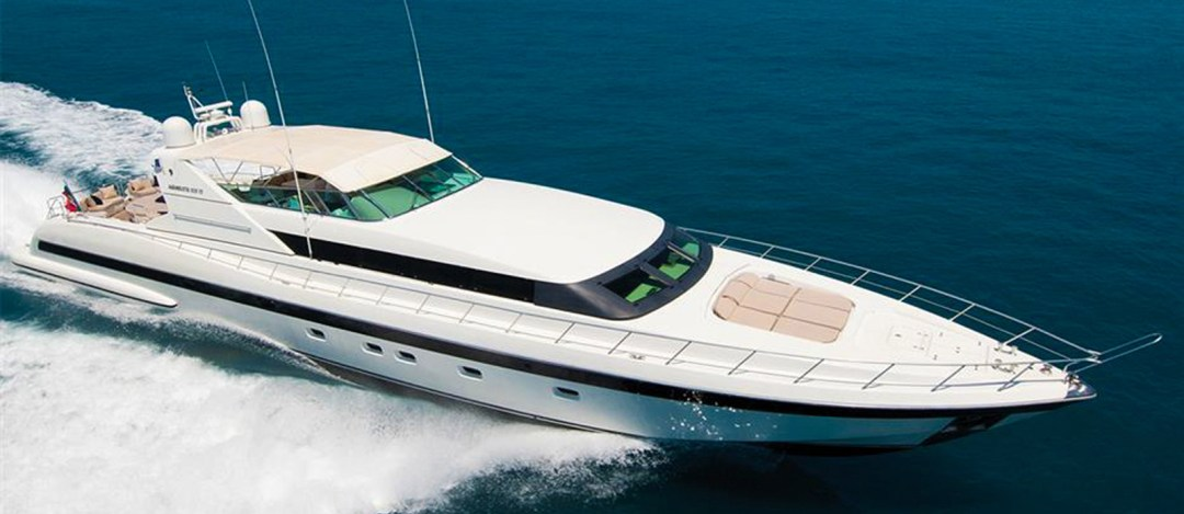 Mangusta 105 For Sale Featured Image by Bristow-Holmes