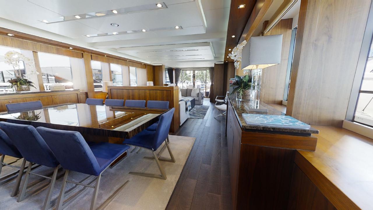 Sunseeker-115-Sport-Yacht-Zulu-Refit-Dining-Area-2