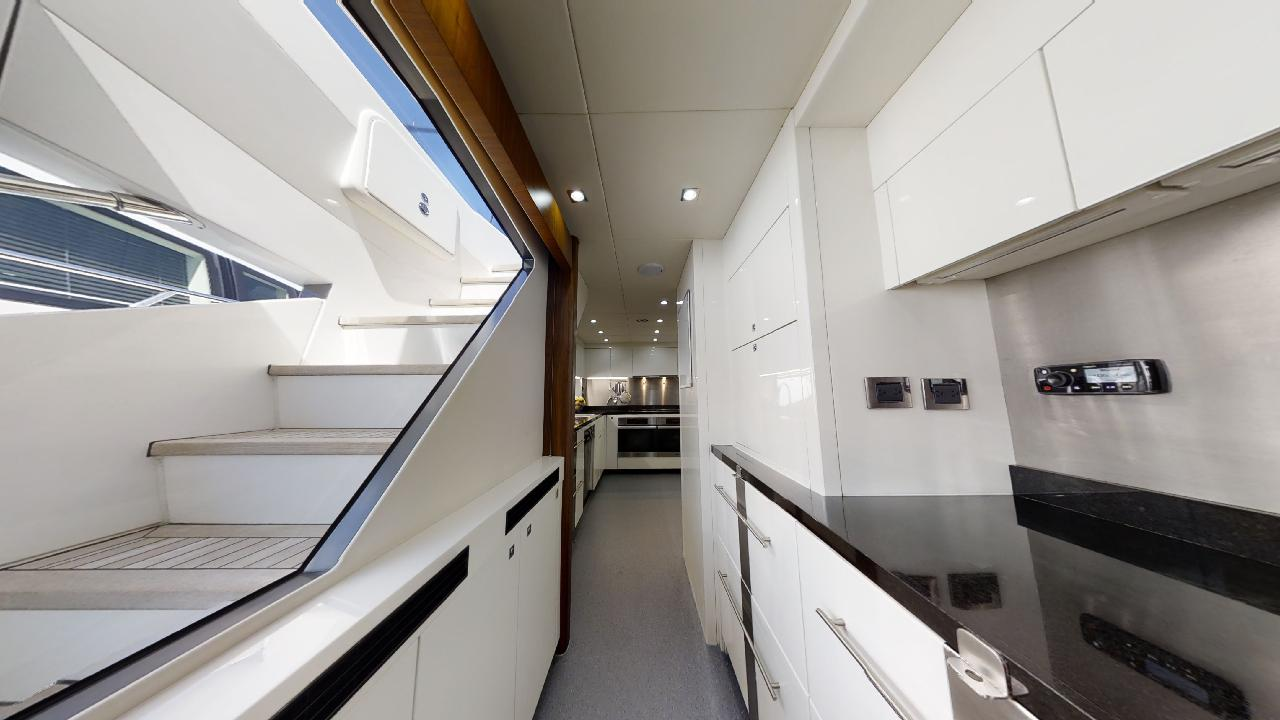 Sunseeker-115-Sport-Yacht-Zulu-Refit-Galley-Servery