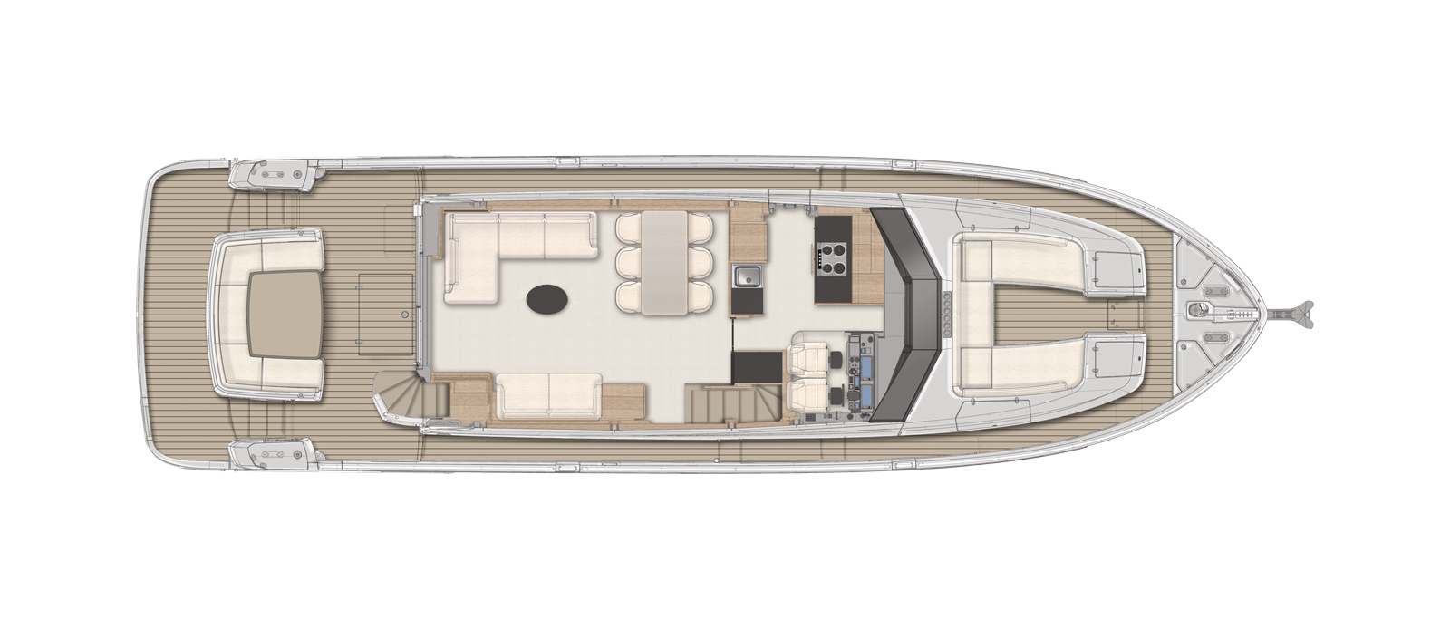 Azimut-Magellano-66---For-Sale---Bristow-Holmes---Layout---Saloon